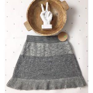 NWT Dakini Sweater Cableknit skirt